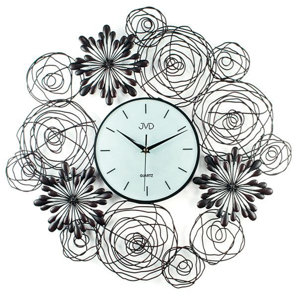 Nástenné hodiny dizajn JVD HJ68 60cm, nastenne hodiny, na stenu, dekoracie do bytu, dizajn