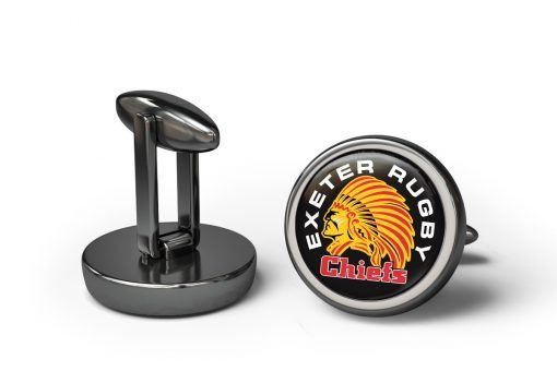 Exeter Rugby Cufflinks #cufflinks #rugby #sports #team #personalisedcufflinks