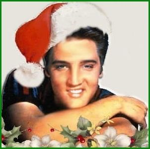 "christmas pics of elvis presley | ELVIS PRESLEY–""BLUE CHRISTMAS"" 