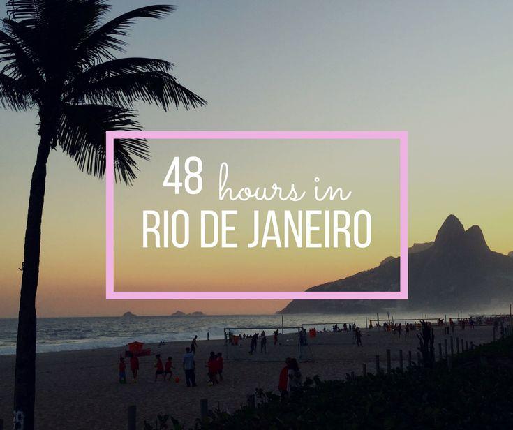 48 hours in Rio De Janeiro |  http://bonvoyagebitches.com