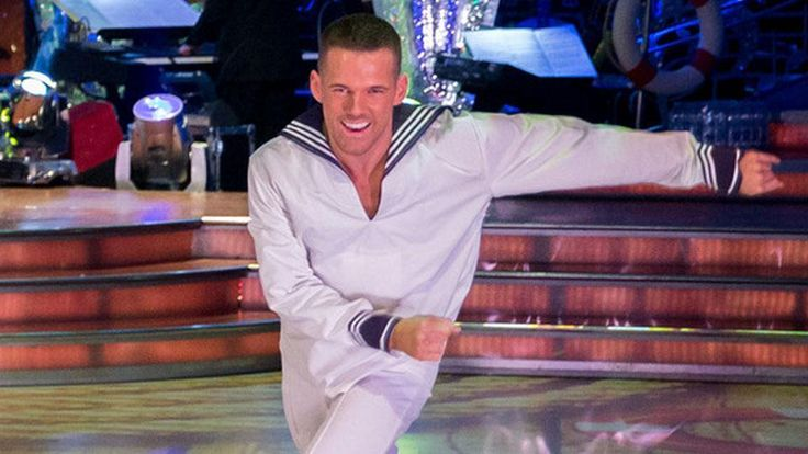 Patrick Helm has stepped into the Strictly limelight. Standing in for AJ  2017
