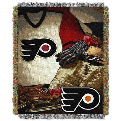 Northwest Co. NHL Flyers Vintage Throw Blanket