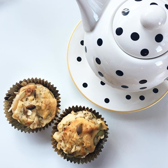 Allergy Friendly Apple and Oat Muffins #SUMrecipeoftheday