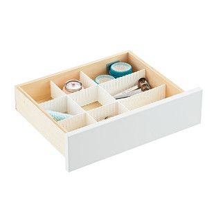 Slotted Interlocking Drawer Organizers | The Container Store
