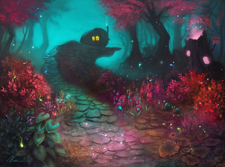 Forest of Canor by Viccolatte on deviantART