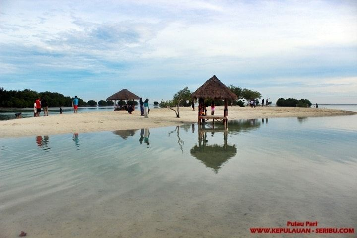 Pantai Perawan Pulau Pari - Pulau Pari Island is a beautiful island as it has the Virgin Sand Beach, there are a number of tourist activities that can be done in Pari Island, selayak: see sunrise and sunset, and then snorkel to see how moleknya view of the sea below. http://kepulauan-seribu.com/pulau-pari-2.html