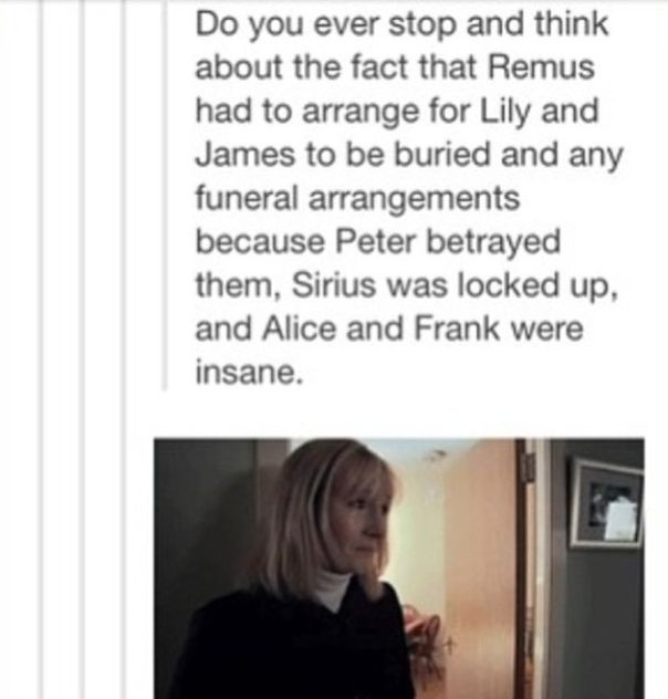 Awww... but it could have also been Dumbledore since he was their original secretkeeper. Could have also been their executor, or whatever the magical equivalent is.