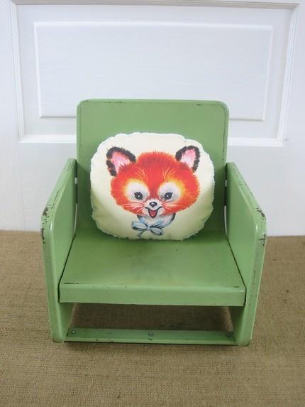 stoel + kussen