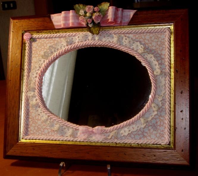 17 best images about specchi on pinterest decoupage vintage and piccolo - Specchio antichizzato ...