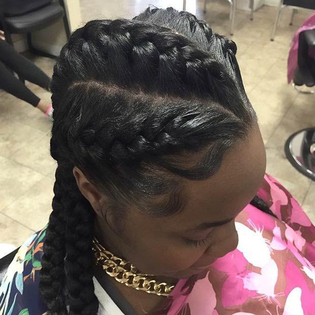 31 Goddess Braids Hairstyles For Black Women Hairstyles