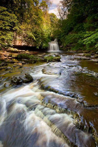 Cauldron Force is a waterfall on the Walden Beck, near the village of West…