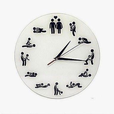 Reloj de Pared Posturas para Sexo | Relojes de Pared