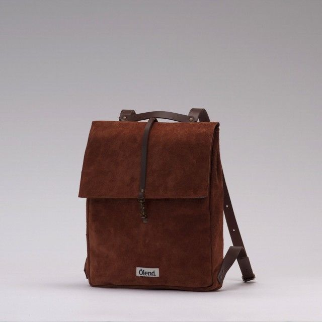 Mini Holden Leather Backpack/ Olend