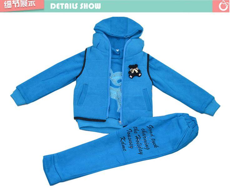 cas suéter de invierno trajes de tres piezas para niños de 10-12 grandes jóvenes vírgenes de edades comprendidas 13-15 malestar Mujeres Otoño