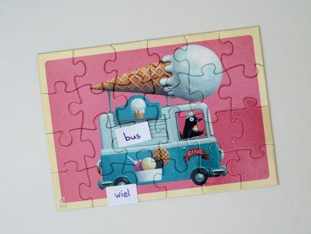 Als je een puzzel gemaakt hebt zoek je de woorden bij de ...