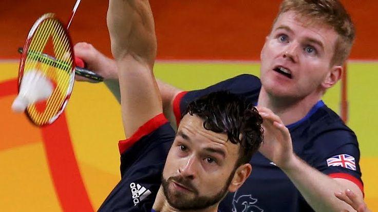 badminton mens doubles bronze for Marcus Ellis and Chris Langridge