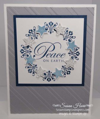 Merry Minis, Daydream Medallions, SUO, Stampin Up, Christmas Cards, susanstamps.wordpress.com
