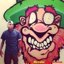 chris brown art mobb