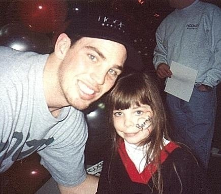 Meeting Matthew Barnaby when I was a youngin! One of the best moments in my life! <3 @Buffalo Sabres