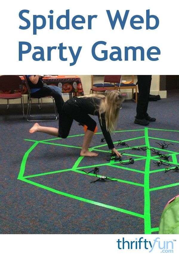 This is a guide about spider web game. This easy to set up Halloween kids' party game can have the rules tailored for different age groups.