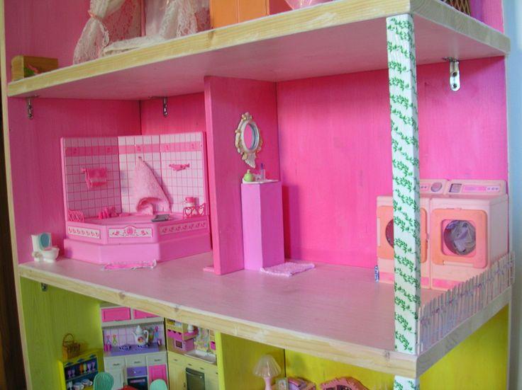 Casa per barbie fai da te barbie bambole co for Oggetti per barbie fai da te