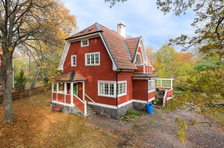 Storängsvilla arkitektritad anno 1906, Parkvägen 41, Storängen