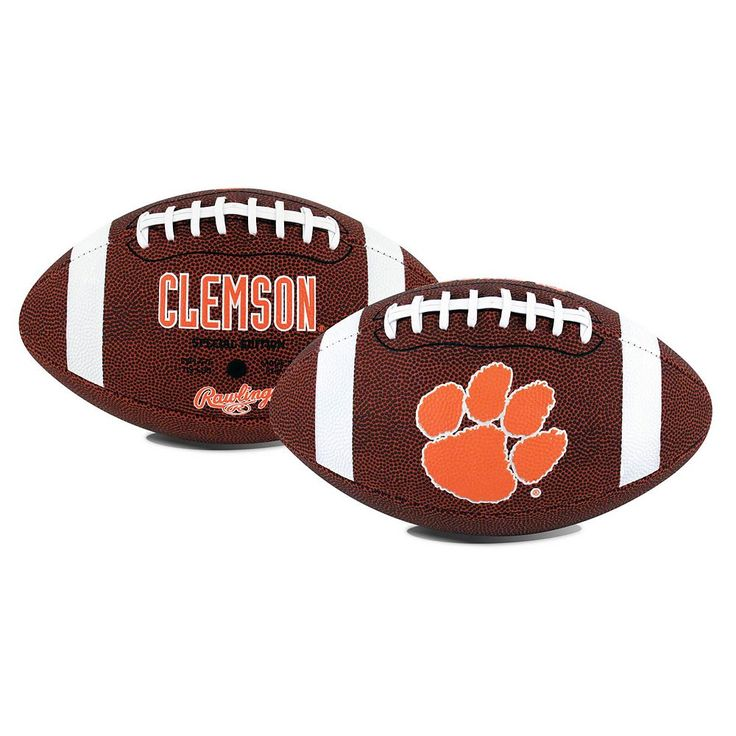 Rawlings Clemson Tigers Game Time Football, Orange