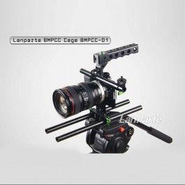LanParte BMPCC-01 BlackMagic Pocket Cinema Camera Compact Cage