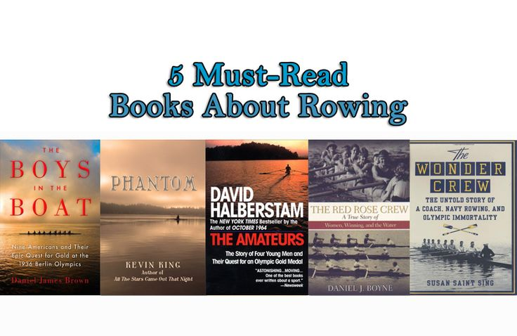 5 Must-Read Books About Rowing