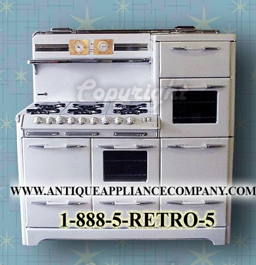 Love this one~  Aristocrat O' Keefe & Merritt model 5850 antique stove by Antique Stoves, via Flickr