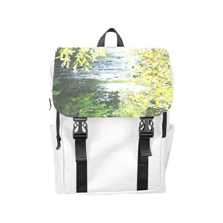 River Runs Through It Casual Shoulders Backpack (Model 1623)