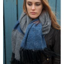 The Longest Block Colour Scarf from Style Snob at MITZI B