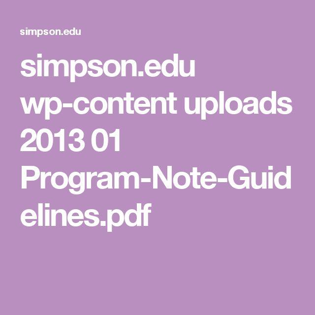 simpson.edu wp-content uploads 2013 01 Program-Note-Guidelines.pdf