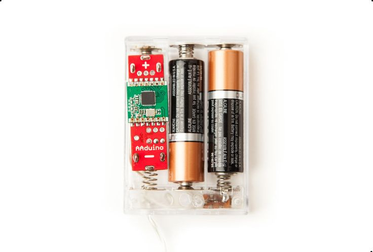 A wireless Arduino clone the size of an AA battery.