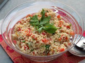 gesund geniessen : Couscous Salat nach Jamie Oliver