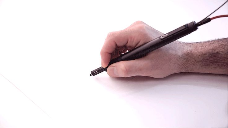 LIX: The Worlds Smallest 3D Printing Pen Lets You Draw in the Air pens 3d printing