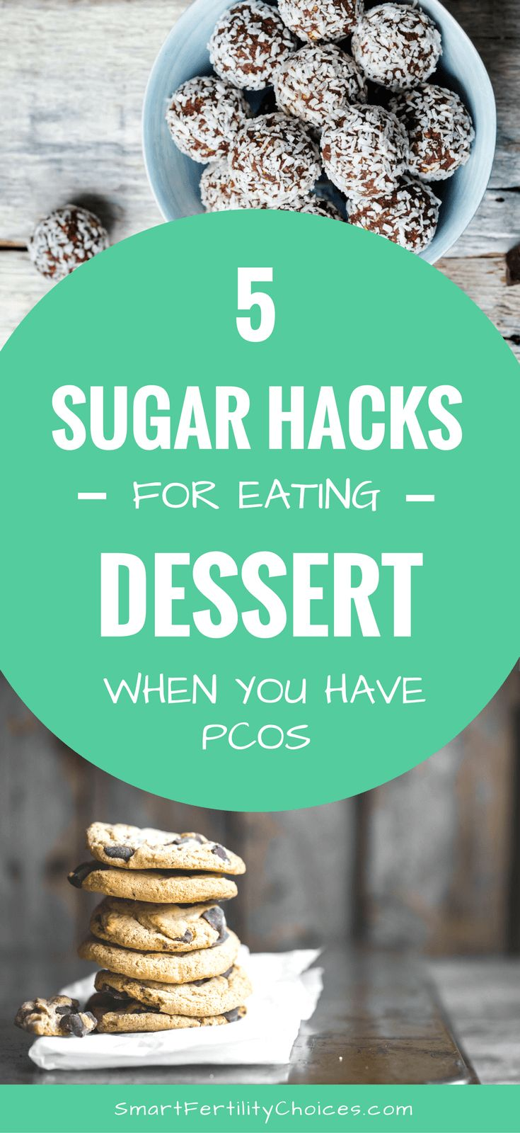Want PCOS recipes for desserts that suit your PCOS diet? Achieve weightloss and overcome infertility using my 5 essential sugar hacks!