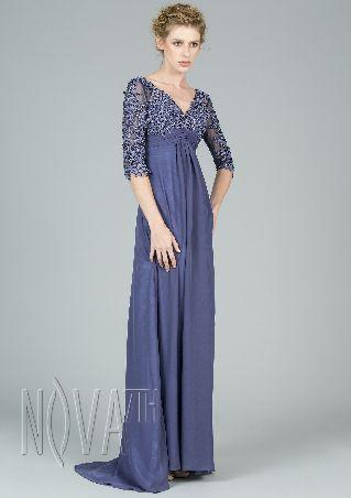 Shiny Strapless Split Front Mermaid Sleeveless Polyester Evening Dress