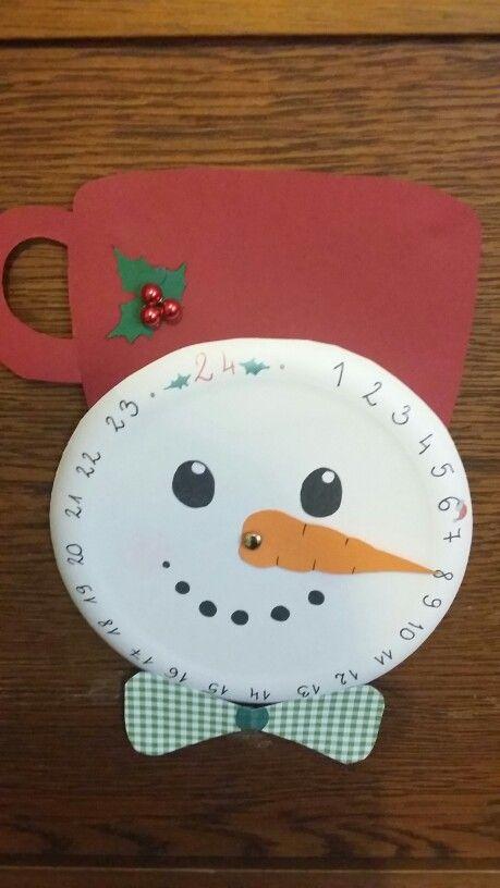 Óra karácsonyig (Advent clock) :)
