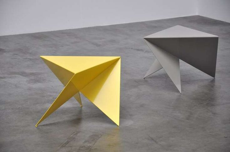 Piet Blom Side Tables ca. 1975 - they look Origami