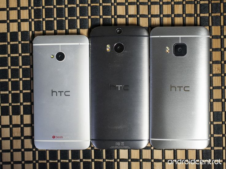 HTC One M7, M8 and M9