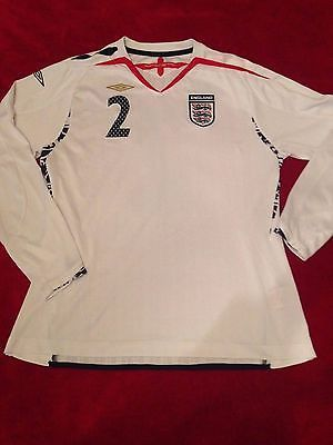 Umbro england women's #football home #shirt 2007-2009 #number 2 size 16,  View more on the LINK: http://www.zeppy.io/product/gb/2/272397445021/