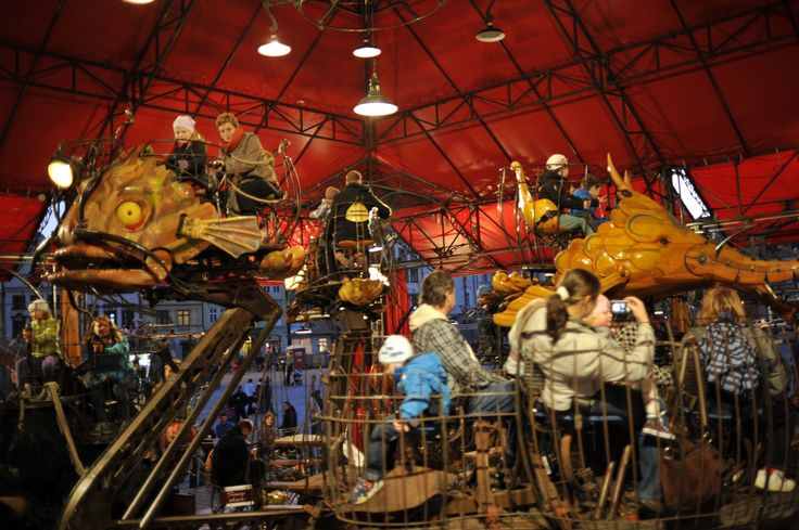 Carousel Le Manège Carré Sénart. #plzen2015