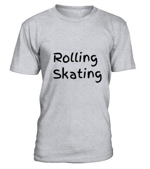 # Rolling Skating T-Shirt Unisex .  S-5XL100%BaumwolleKlassische Passform