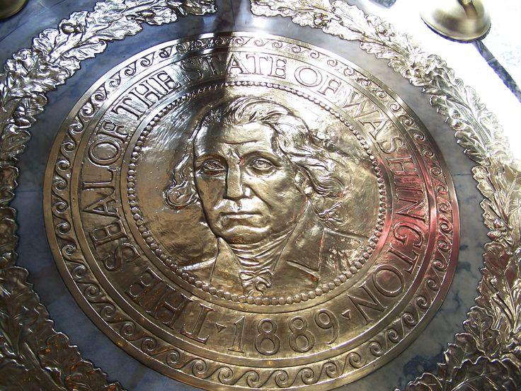 George Washington Rotunda | Category - George Washington Waymark - Capitol Rotunda's State Seal ...