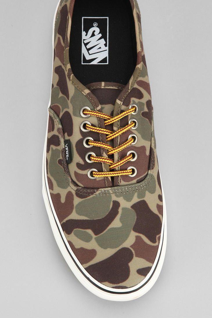 Vans Authentic Camo Men's Sneaker