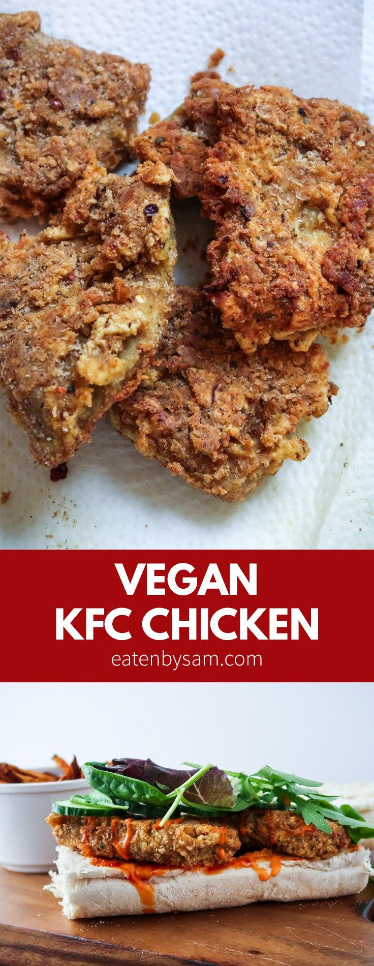 Vegan KFC Chicken Recipe