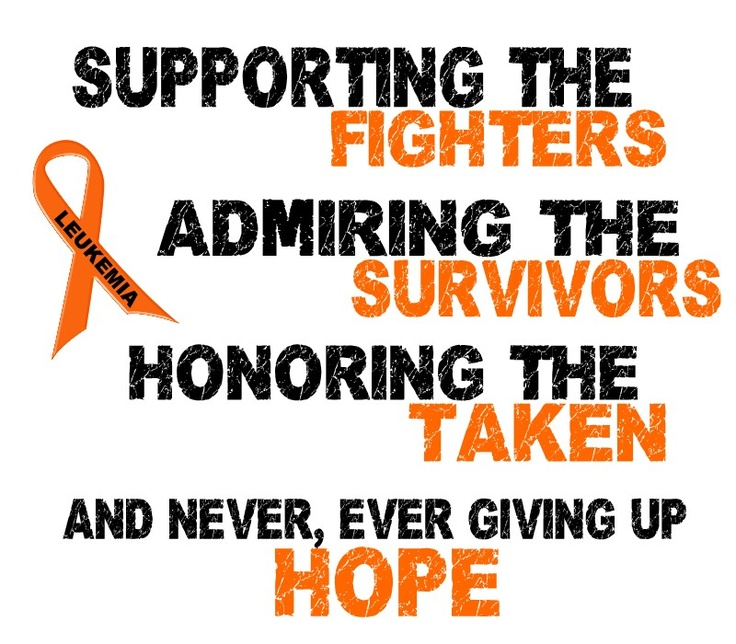 Image result for leukemia awareness