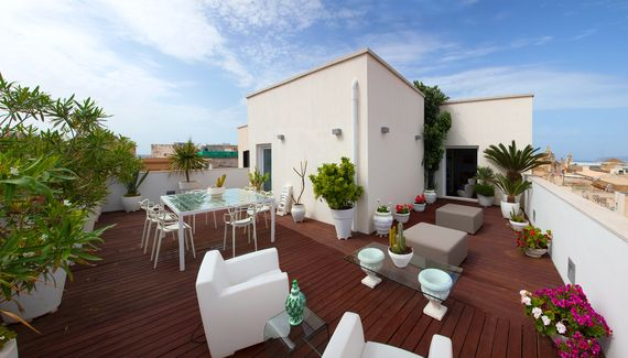 Attico in Trapani - Self-catering apartment in Sicily  sleep 2