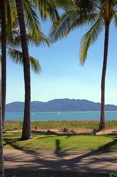 What a view! Our road trippers Bec & Lyndon are in Townsville